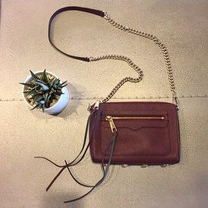 - rebecca minkoff black cherry avery bag